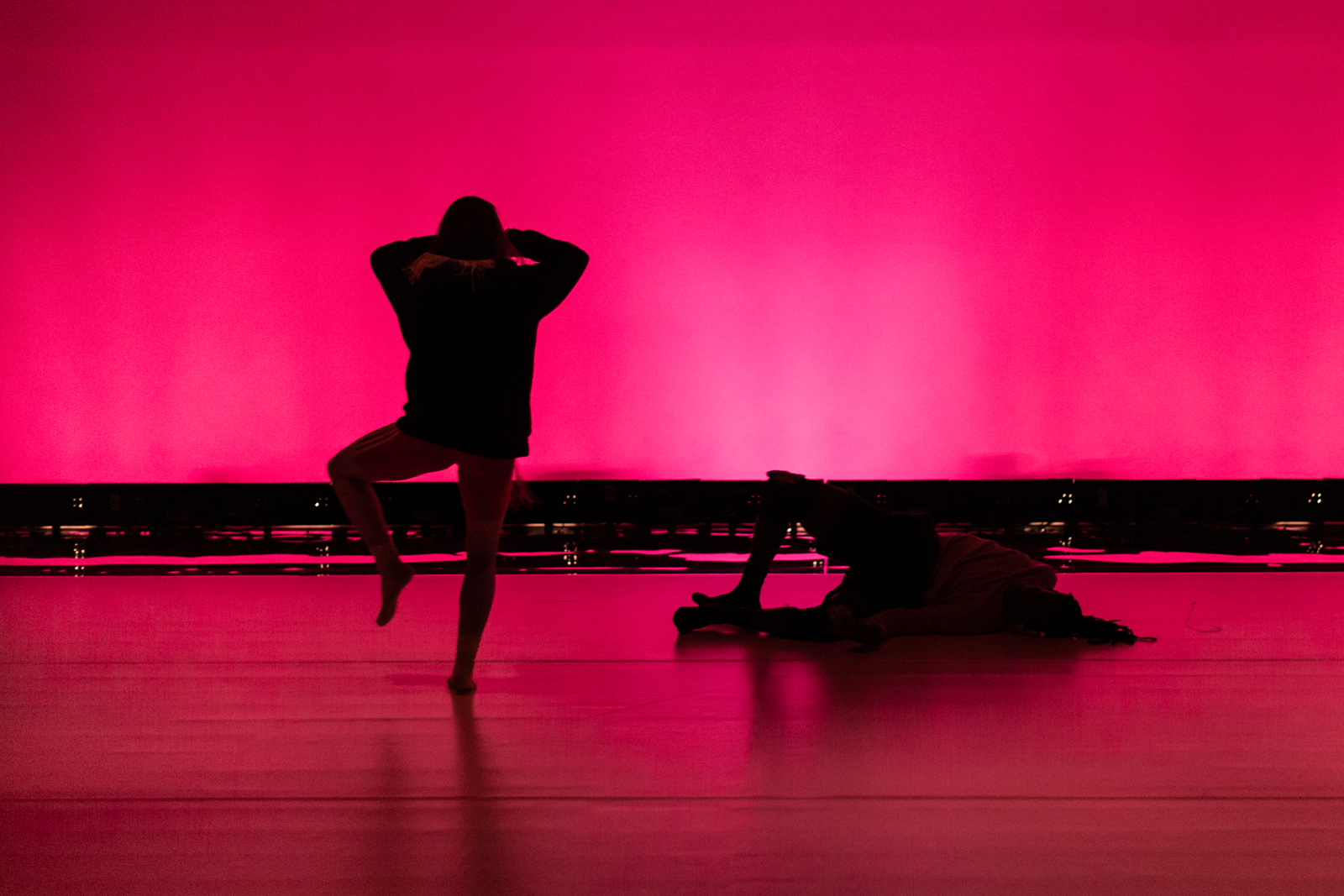 Spirit Compass by Lucy Suggate at BALTIC Centre for Contemporary Art, 2019. Photo by Rob Harris. Dance Artists: Rowdy SS and Stephanie McMann